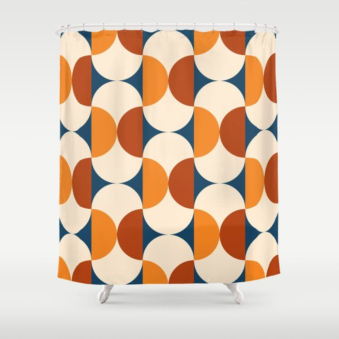 Buy Mid Century Modern Shower Curtain By Bitart On Society6