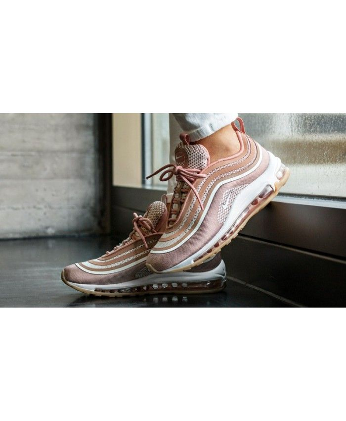 sale retailer 4ed9c 16a84 Nike Air Max 97 Rose Gold Trainers Deals On Black Friday ...