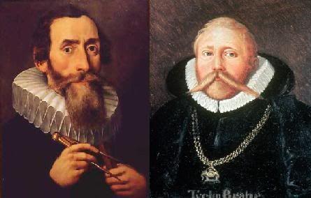 La curiosa historia contada de Johannes Kepler Vs. Tycho Brahe. | Matemolivares