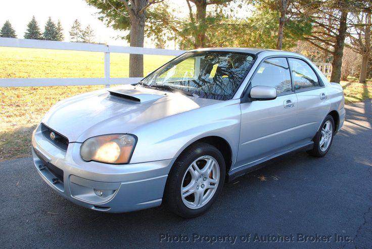 nice Amazing 2004 Subaru WRX WRX Sedan 4-Door 2004 SUBARU IMPREZA WRX/1OWNER!LOW MILES!WARRANTY!LOOK! 2018 Check more at http://24carshop.com/cars-gallery/amazing-2004-subaru-wrx-wrx-sedan-4-door-2004-subaru-impreza-wrx1ownerlow-mileswarrantylook-2018/