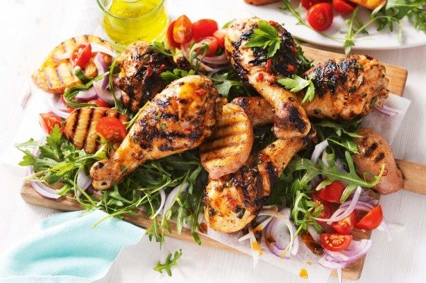 For a salad you'll look forward to eating try one of these gorgeous summer recipes, featuring a delicious prawn, peach and goat's cheese salad, watermelon and haloumi salad, and fresh summer greens with zippy mint dressing.