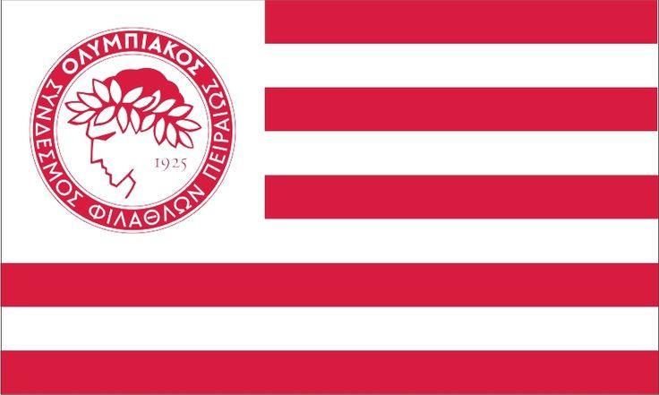 ΣΗΜΑΙΕΣ :: ΑΘΛΗΤΙΚΕΣ :: ΟΛΥΜΠΙΑΚΟΣ - σημαίες, λάβαρα, κύπελλα, έπαθλα