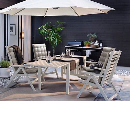M s de 1000 ideas sobre sombrillas para patios en for Muebles de terraza ikea
