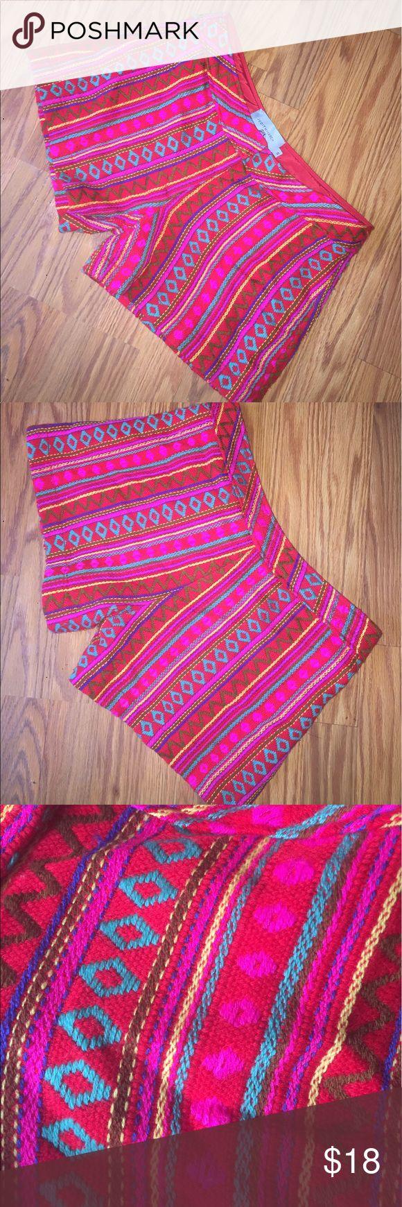 Judith March Aztec print shorts Super cute Aztec pattern shorts. Size small. Judith March Shorts
