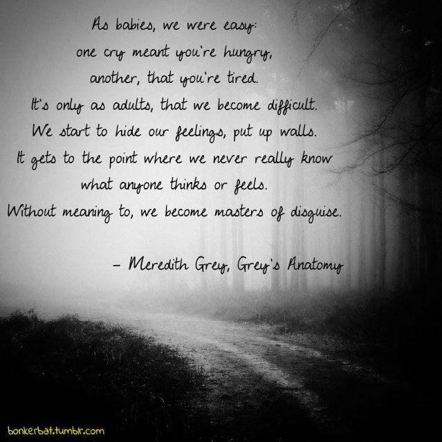 meredith grey quotes | Meredith Grey, Grey's Anatomy