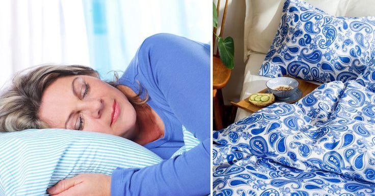 Därför vill du sova i blå sängkläder