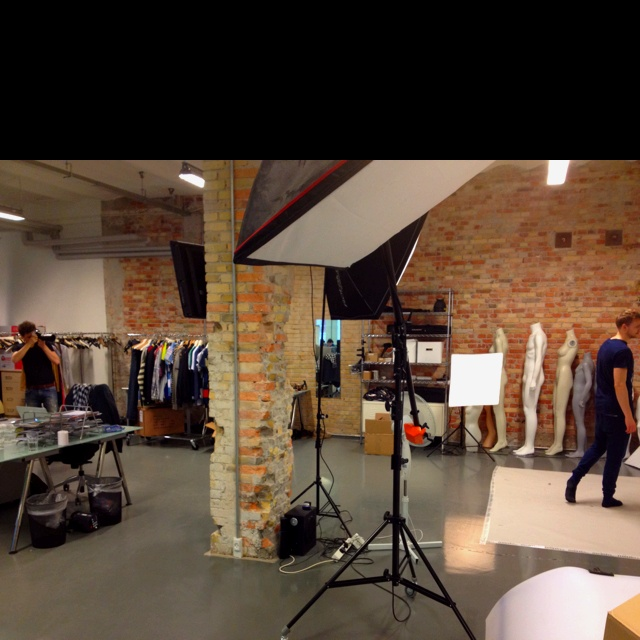 Jeppe our photostudio chief and Thomas in work. Already done with 400 styles, working on the last 70 for today!