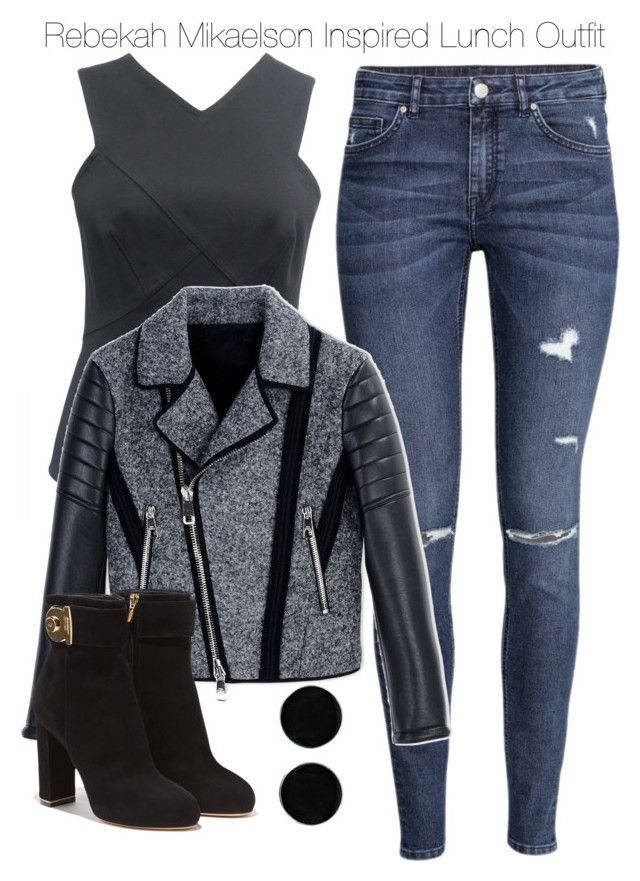 """""""Rebekah Mikaelson Inspired Lunch Outfit"""" by staystronng ❤ liked on Polyvore featuring H&M, Neil Barrett, Salvatore Ferragamo, AeraVida, Lunch, to, Dinner, autumn and rebekahmikaelson"""