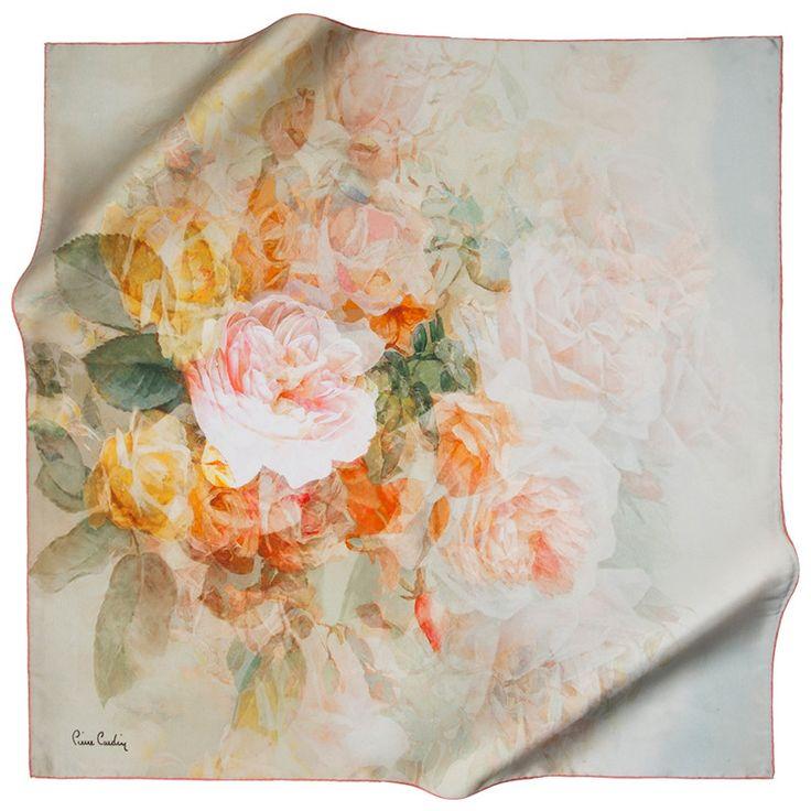 Peony Romance Vintage Designer Silk Scarf at www.hijabplanet.com - free shipping worldwide #muslimah #shoppinglove #hijabstyle #hairscarf #scarfstyle #enjoystyle #fashiondaily #fashiondesigners #hijabfashion #headscarves