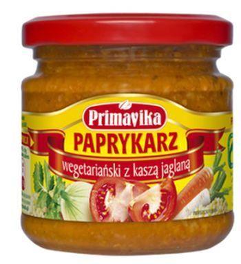 Paprykarz wegetariański z kaszą jaglaną (160 g) - Primavika