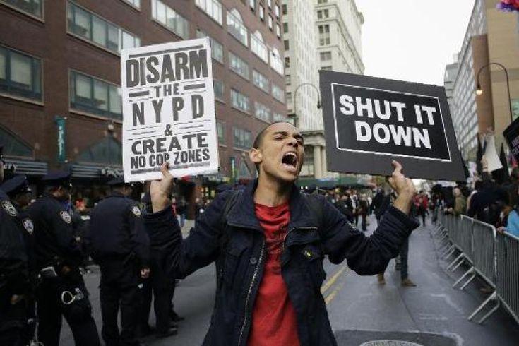 US-Polizei: Erneut Afroamerikaner bei Festnahme umgekommen http://on.welt.de/1CyaixJ