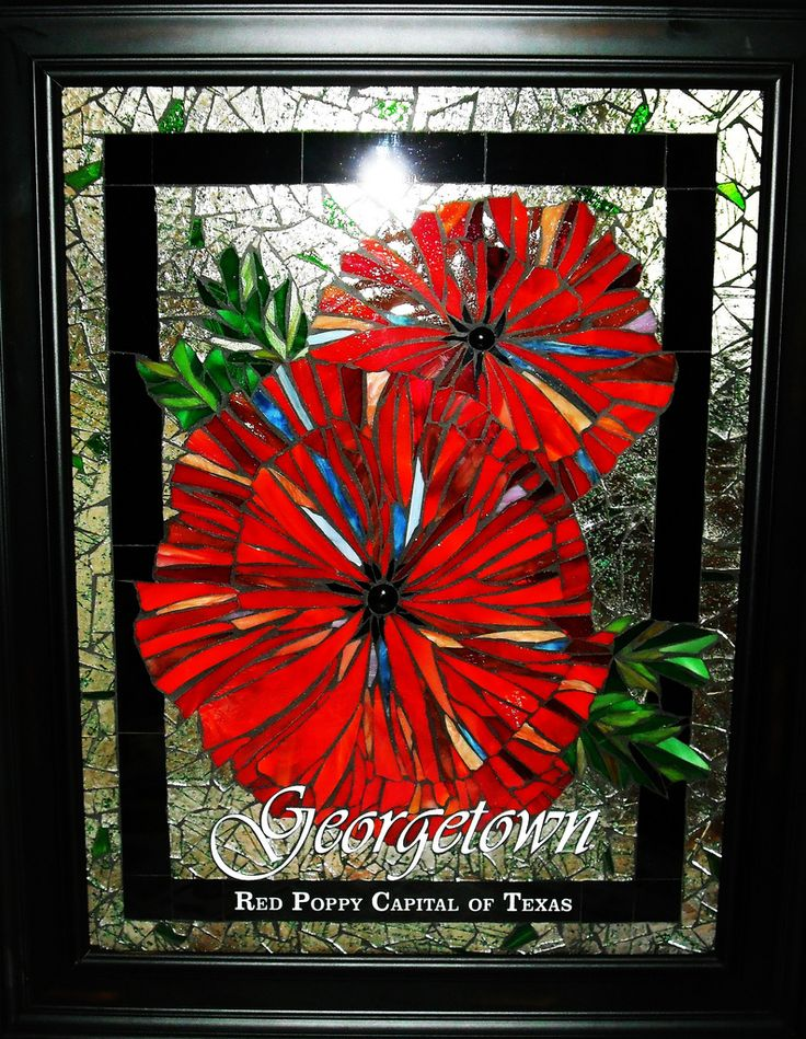 Georgetown, TX The Red Poppy Capital of Texas.