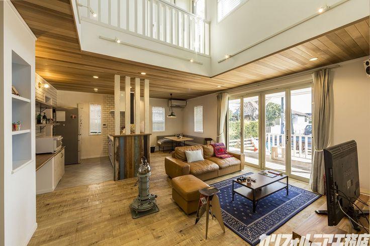 SURFER'S HOUSE in 茨城 | カリフォルニア工務店