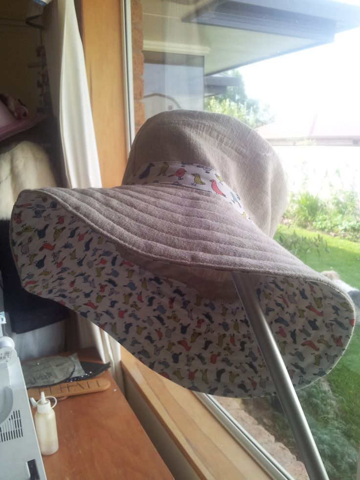 From linen shirt to hat ~ Made with my two hands