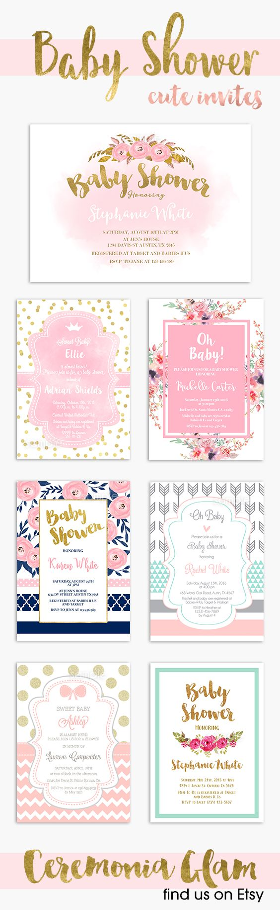 Baby shower invitation | Baby shower invitations ...