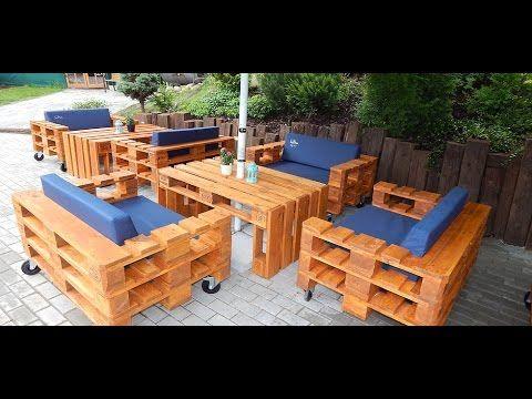 Pallet Wood Wave Dresser: Reclaimed, Beachy, Furniture - YouTube