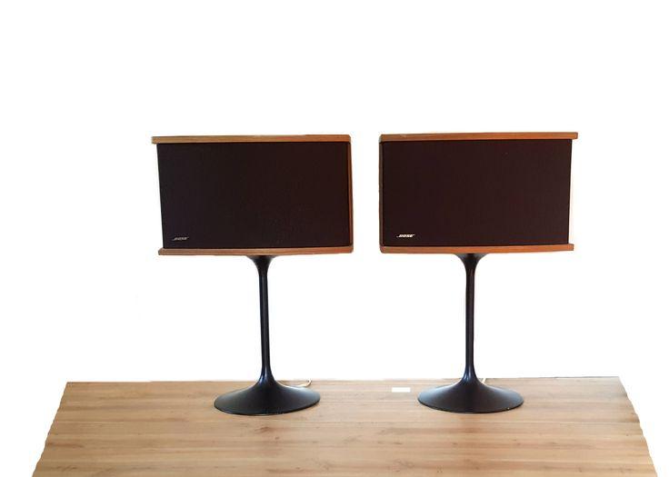 Pair vintage BOSE 901 Speakers with Tulip Stand ~ Vintage Audio ~ Mid  Century Modern Speakers
