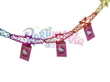 Hello Kitty Doğum Günü Partisi Asma Süsler
