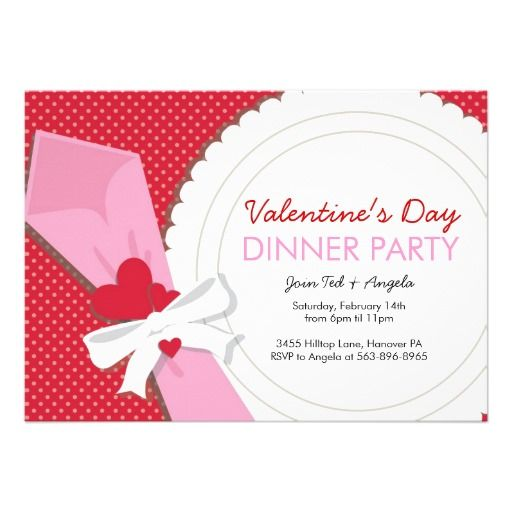 191 best images about Valentines Day Invitations and Cards on – Valentine Party Invitation Template