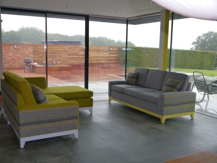 Die besten 25+ Multicoloured living room sofas Ideen auf Pinterest - wohnzimmer ideen schwarzes sofa