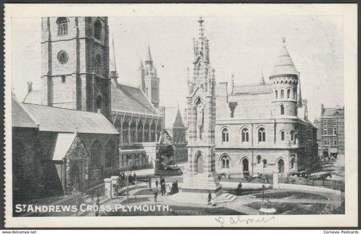 St Andrews Cross, Plymouth, Devon, c.1905 - Pictorial Postcard