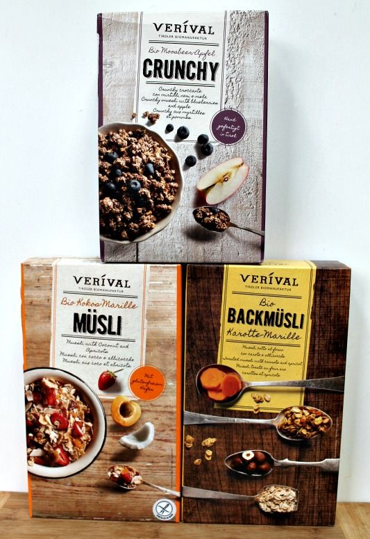 Organic Verival Muesli Range Review