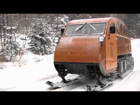 Bombardier Snowmobile B 12  1950