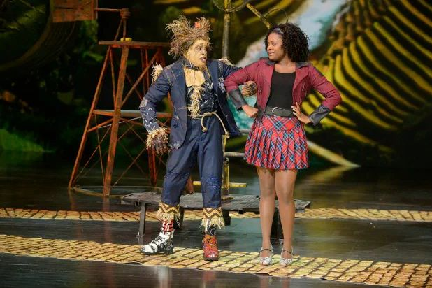 "Angry Twitter users took to the social media platform in the days leading up to NBC's broadcast of ""The Wiz Live!"" to decry what they considered racist casting.  The Thursday-night live production featured an all-black cast led by Queen Latifah, David Alan Grier, Ne-Yo and newcomer Shanice Williams."