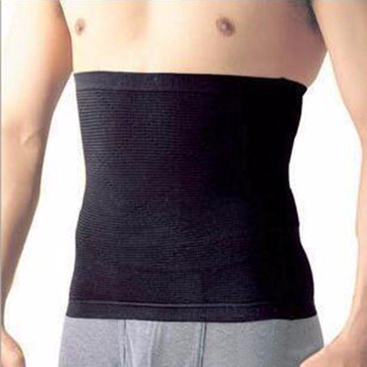 Stylish Men Male Waist Cincher Slimming Body Training Exercise Belt Tummy Cincher Corset Stomach Body Shapers
