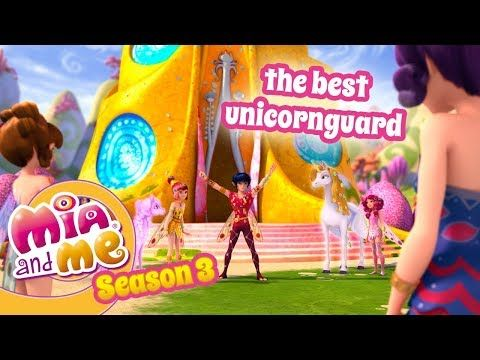 The Best Unicornguard Mia And Me Season 3 Youtube Coloring