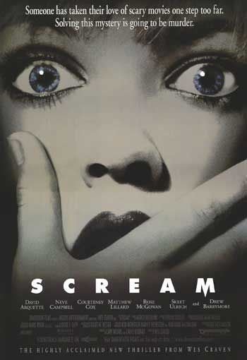 Scream. I remember watching this over and over as a teen, loved it