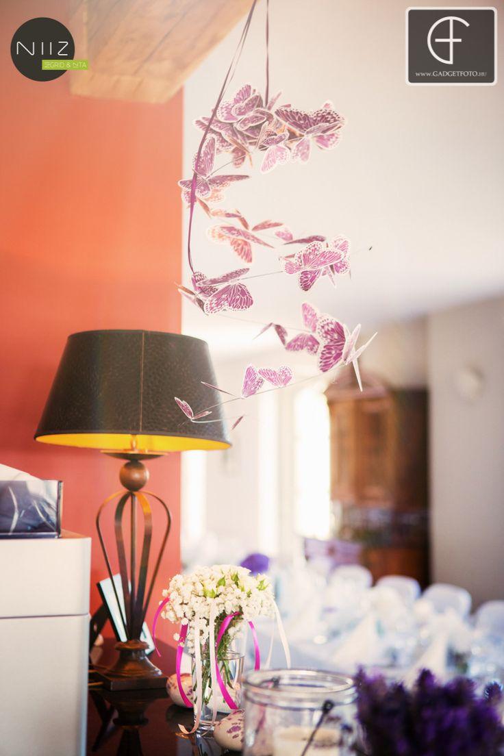 Pillangók lilában és pinkben is