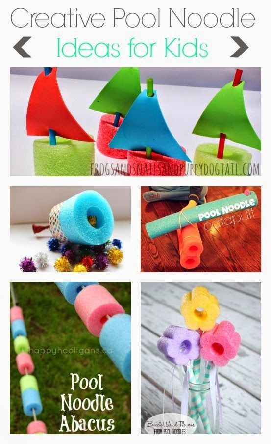 Creative Pool Noodle Ideas for Kids