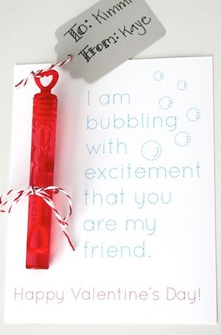 I am bubbling with excitement that you are my friend!