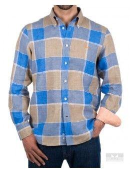 Camisas de cuadros hombre Harmont & Blaine Lino