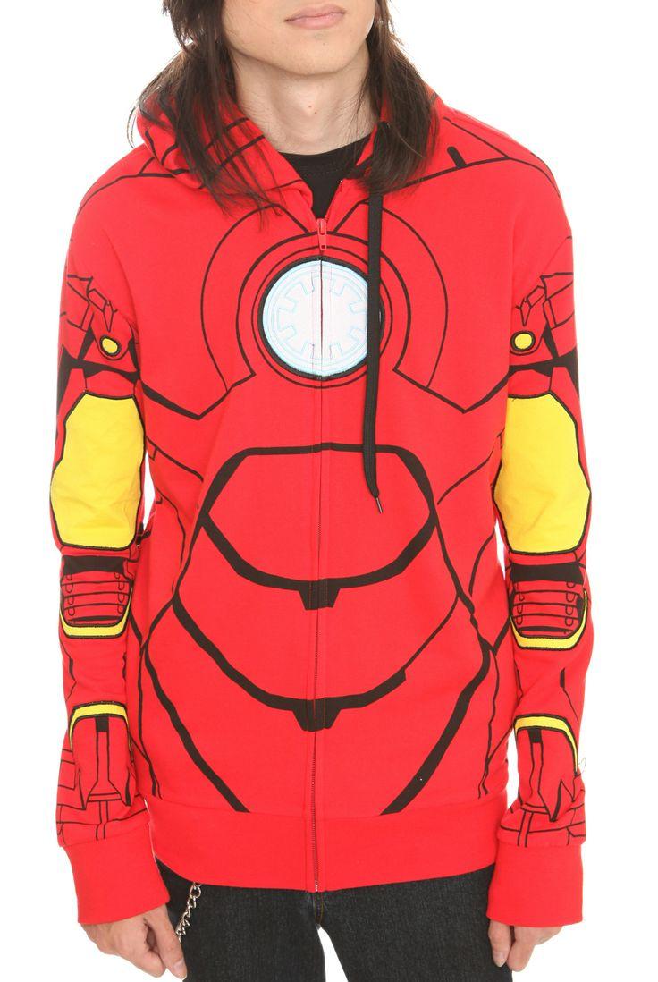 Iron man hoodies