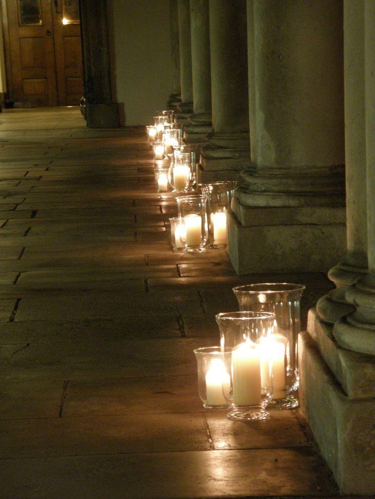 Royal Hospital Chelsea London - Storm lantern clusters by www.stressfreehire.com #venuetransformers