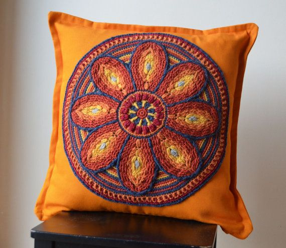 Crochet Mandala PATTERN - Table or Wall Decoration ...