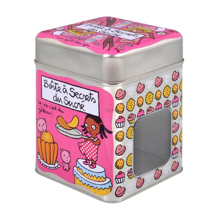 """Boite Secrets du Sucré """"La vie c'est du gâteau !"""""""