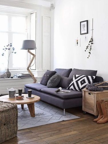 dco petit salon style scandinave moderne