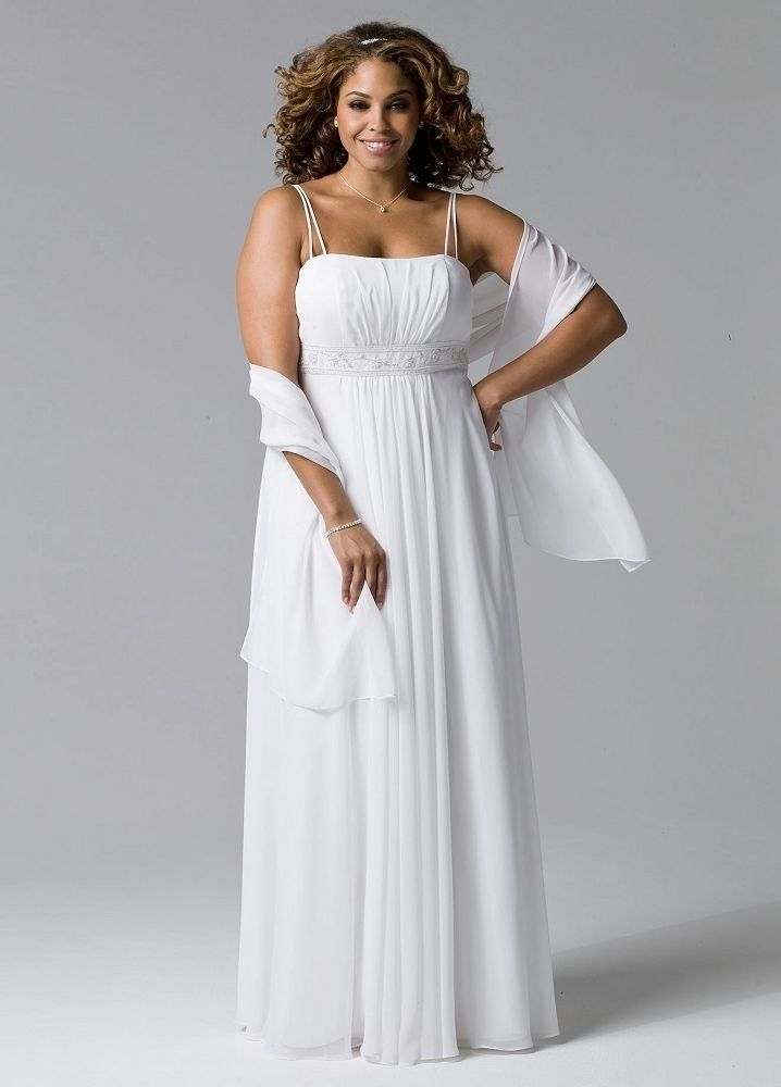 Plus size wedding dress clearance