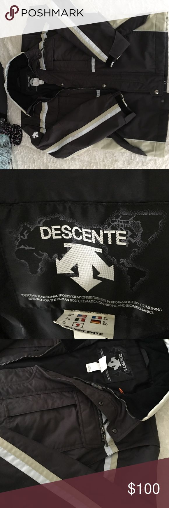 Awesome Descente ski jacket. Mens ski jacket water repellent and water resistant in excellent condition descente Jackets & Coats Ski & Snowboard