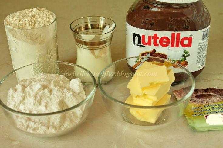 Mehribanın yahşi tarifleri: Nutella dolğulu kurabiye