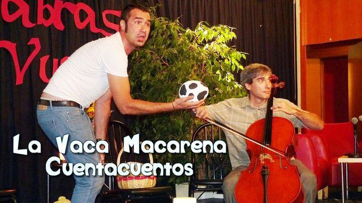La vaca Macarena. Cuentacuentos. Colegio Público Andrés Segovia