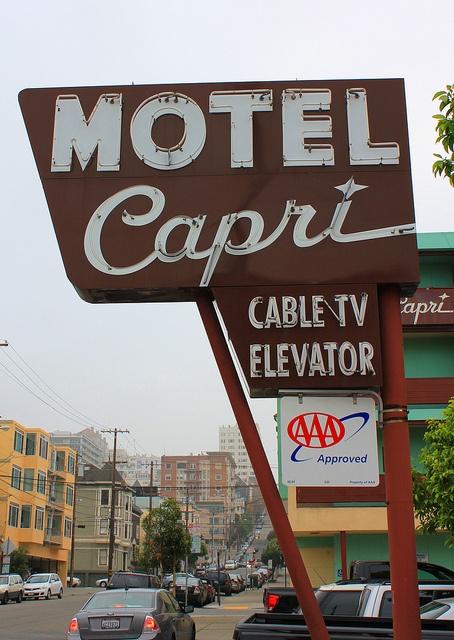 Capri Motel by Vintage Roadtrip, via Flickr