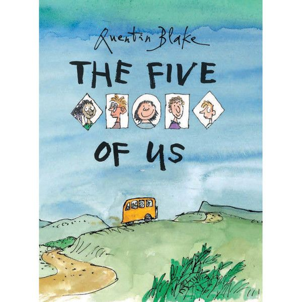 "Englisches Bilderbuch ""The five of us"" von Quentin Blake – mundo azul"