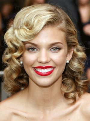 Old Hollywood Glamour Hairstyles