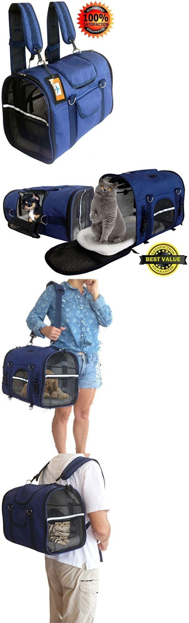 Carriers and Totes 177788: Southwest Airlines Pet Carrier Airline Approved Backpack Car Seat Cat Dog BUY IT NOW ONLY: $96.69 #PetCarriers