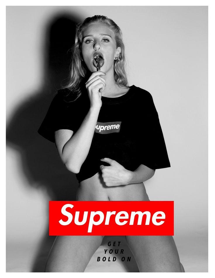 Supreme Mockup campaign #getyourboldon