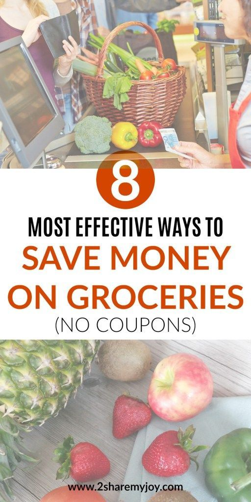 8 Most Effective Ways to Save Money on Groceries and how to cut your grocery bill in half without using coupons. Of course going to stores like #Aldi is my number 1 tip, but there are more money saving hacks you need to know! If you are on a frugal living journey check out all grocery shopping tips for a low budget. #savemoneyongroceries #frugalliving #aldilove
